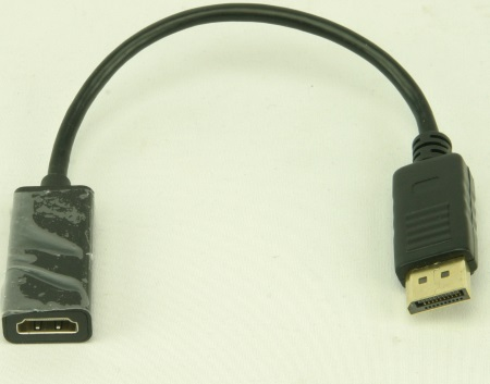 Display-Port to HDMI Adapter